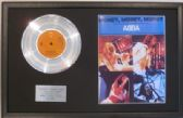 ABBA - Platinum Disc & Song Sheet - MONEY,MONEY,MONEY